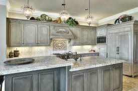 gray distressed kitchen cabinets distressed gray cabinets design