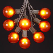globe shaped outdoor g50 light string sets novelty lights inc