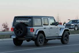 jeep wrangler 4 door top off we spy the 2018 jeep wrangler lineup without any camouflage
