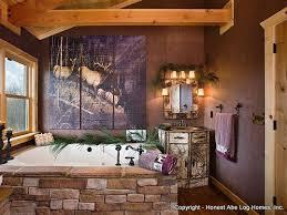 Log Homes Interior Designs 47 Best Log Home Bathrooms Images On Pinterest Log Home