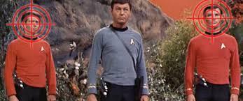 Star Trek Red Shirt Meme - star trek did redshirts really die more often on tos