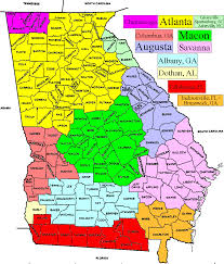 Map Of Jacksonville Florida by Tv Market Maps