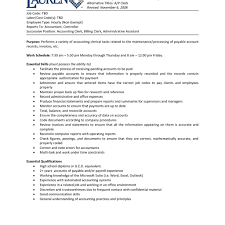 resume templates accounting assistant job summary exle accounts assistant job description business proposal templated
