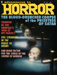 blood soaked tales of terror horror tabloid magazines from the