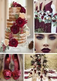 Our Wedding Day Sassy Red by Jewel Toned Wedding Colors Strictly Weddings