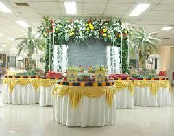 wedding decorations for reception wedding corners