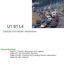 u1 s1 l4 catalysts and reaction mechanisms textbook readings page