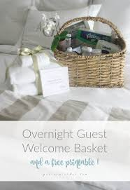overnight gift baskets best 25 guest welcome baskets ideas on welcome