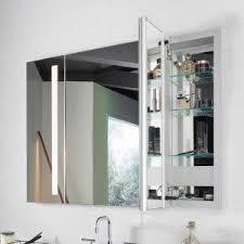 kohler 99007 tl na verdera lighted medicine cabinet aluminum