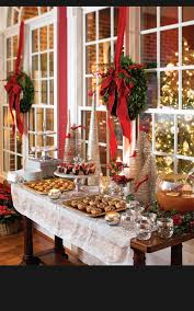 christmas party table decorations christmas party table setup tags table set up for christmas
