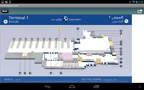 Detroit Airport Terminal Map Dubai Airport Android Apps On Google Play