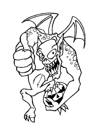 this is very powerful monsters coloring picture for kids