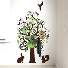 besondere kinderzimmer bäume spritzig auf moderne deko ideen oder