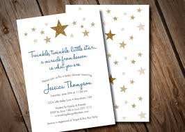 twinkle twinkle baby shower invitations twinkle twinkle baby shower invitation gold