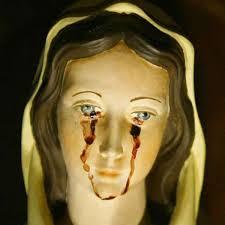 imágenes religiosas que lloran sangre hombre dice que virgen llora sangre por abortos en méxico