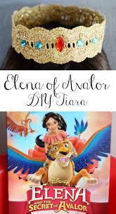 diy elena of avalor tiara craft elena and the secret of avalor dvd