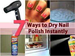 diy beauty tricks 5 ways to dry nail polish instantly diy u0026 crafts