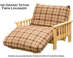 bifold futon frame lounger kd lounger room pic loveseat lounger
