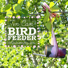 make a bird feeder from a tin can on the news the diy mommy