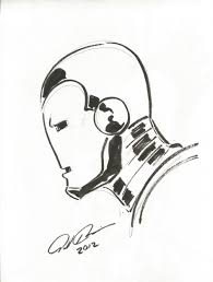 iron man head sketch paolo rivera thought bubble leeds 2012 in