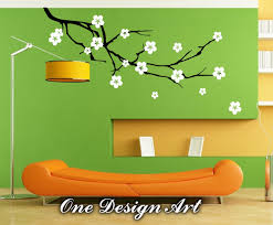 cherry blossom flower wall decals mural decal vinyl sticker zoom