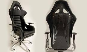 siege de bureau baquet recaro f360 challenge carbon fiber office chair a must