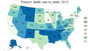 us map jpg firearm rates in the united states by state