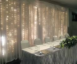 black pvc wire 2mx2m indoor wedding warm white led