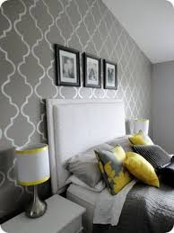 Best Yellow Gray Bedroom Inspiration Images On Pinterest - Grey and yellow bedroom designs