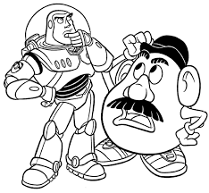 coloring pages toy story 3 minister coloring