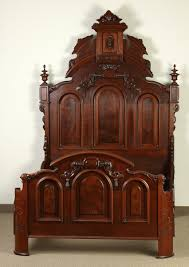 victorian carved walnut bed cottone auctions victorian house