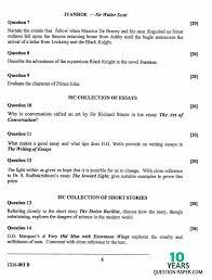 isc 2016 english literature paper 2 class 12 board question