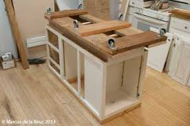 kitchen island with casters island ideas reshaping our footprint