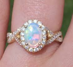 Opal Wedding Ring by Wedding Rings Ideas Diamond White Three Stones Centerpieces Opal