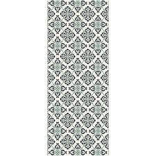 tapis cuisine tapis de cuisine carreaux de ciment 50x120cm en vinyle vistacimen1