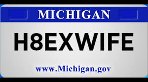 Banned Vanity Plates Banned License Plates In Michigan