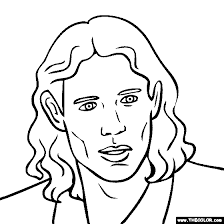 plague pro wrestler coloring sketch template mick