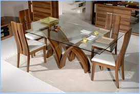 glass top dining room tables rectangular photo of fine dining room