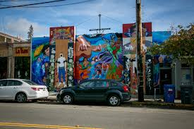 Cars Wall Mural by Quirky Berkeley New Murals U2013 Early 2017 Edition