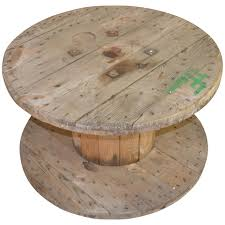 table basse touret bois tourets en bois