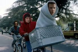 Et Meme - stranger things meme eleven as et on bingememe
