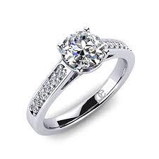 verlobungsring zirkonia ring adoree ringe verlobungsringe in 925 sterling silber ring