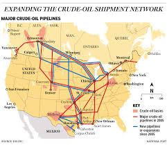 Keystone Xl Pipeline Map America Has Built The Equivalent Of 10 Keystone Pipelines Since