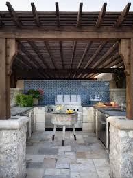 Backyard Kitchen Design Ideas by Top 25 Best Rustic Outdoor Kitchens Ideas On Pinterest Rustic