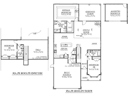 simple two story rectangular house design with kitchen four home decor large size rectangular house floor plans home decor zynya plan story full hdsouthern