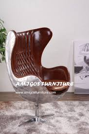 golden copper aluminium metal egg chair buy oval egg chair