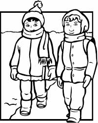 animations a 2 z coloring pages of winter clothing
