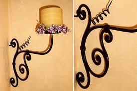 candelieri in ferro battuto portacero da parete candeliere in ferro battuto forgiato a mano