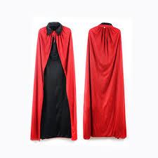 Vampire Cape Halloween Attire Wash And Wear Wizard Magic Vampire Cloak