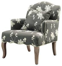 floral armchair gray wash transitional armchairs and accent